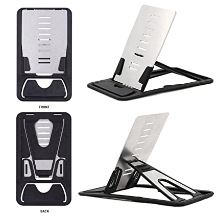 timeless design 853d8 f6491 Universal Cell Phone Mini Card Stand, Portable Pocket And Wallet Holders  Cell Phone Holder Desk Table Folding Desktop Kickstand for iPhone 6s 7 Plus  ...