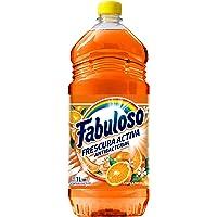Fabuloso Limpiador Liquido Fabuloso Naranja Antibacterial 1 Litro, naranja