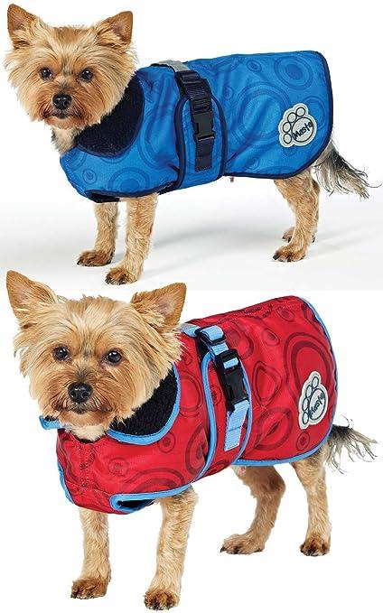 1 opinioni per Masta Deluxe- Cappottino impermeabile per cani, circa 71 cm, rosso (Rumba Red),