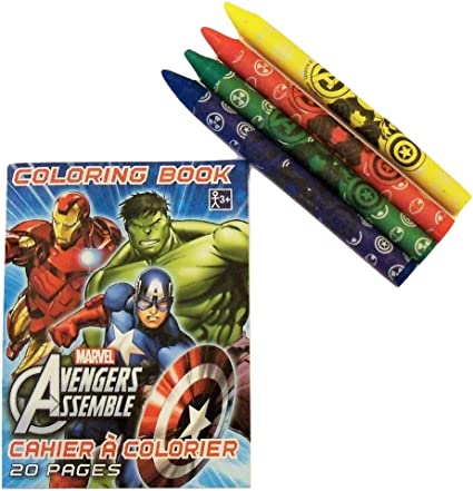 Amazon.com: Marvel Avengers Assemble Mini libro para ...