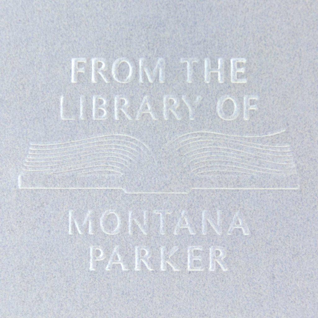 ae461d0320e7 Book Embosser | Library Embosser | Personalized Gift | Custom ...
