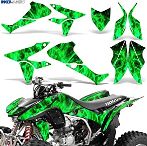 Sticker Decal Kit For TRX450R TRX 450R TRX450 fenders Tank Emblems Graphics Kit
