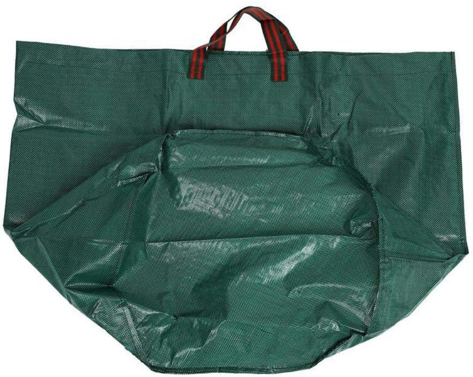 270L Giant Garden Waste Bag Strong Rubbish Sack Waterproof Heavy Duty Reusable