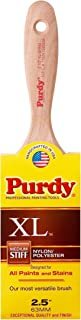 product image for Purdy 144380325 XL Series Sprig Flat Trim Paint Brush, 2-1/2 inch
