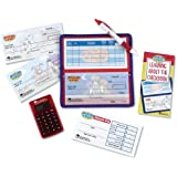 Learning Resources Pretend & Play Checkbook with Calculator and Checks