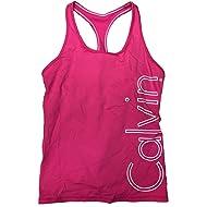 Calvin Klein Performance Tank Top w/Sports Bra In Pink
