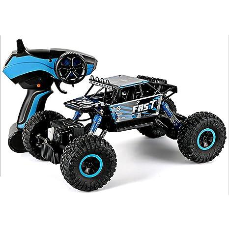 2,4 GHz control remoto eléctrico rápido Racing todoterreno camión vehículo RC coche juguete de