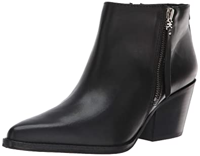 f14c7e7e0 Sam Edelman Women s Walden Ankle Boot Black Leather 5.5 ...