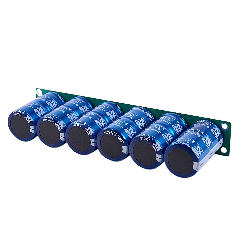 Shumo 6 Pi/èCes Farad Condensateur Super Condensateur 2,7 V 500 F 35 X 60 Mm avec Panneau de Protection