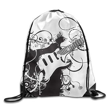 Kathleen personalidad guitarra 3d impresión diseño de cara sonriente emoticono suave Casual mochila escolar libro bolsas mochila cordón mochilas para viajar ...
