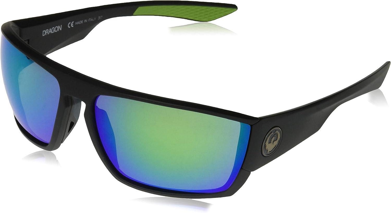 Dragon Alliance Cutback Sun Glasses for Men/Women, Green