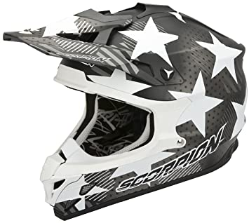 Scorpion Motocross Casco 2015 VX de 15 Evo Air – Stadium – mate negro – Color