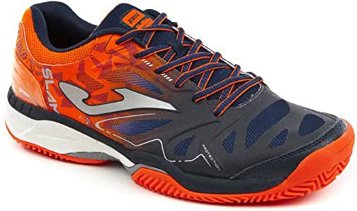 Joma T.Slam Men 803 Clay Azul Marino Naranja: Amazon.es: Deportes ...