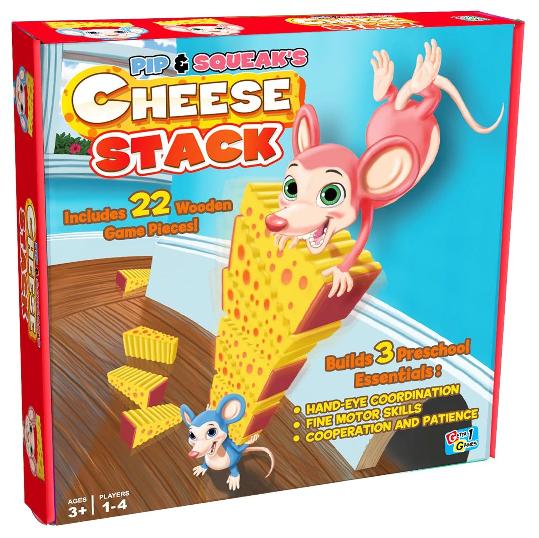 Getta1Games Cheese Stack Game