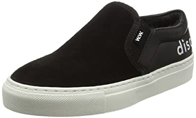 WoodWood Ian Shoes, Baskets Basses Mixte Adulte, (Black), 41 EU