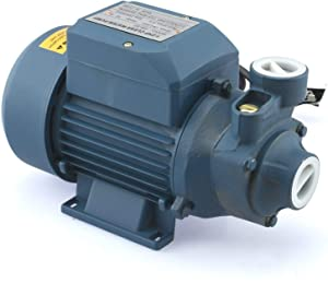 Manoch New 1/2 HP Electric Industrial Centrifugal Clear Clean Water Pump Pool Pond 375 Model: QB60 Power: 0.5Hp/370w Electric: 110v 60hz Pipe Diameter: 1 Inch Dimensions: 12x7x8 Inch(LxWxH)