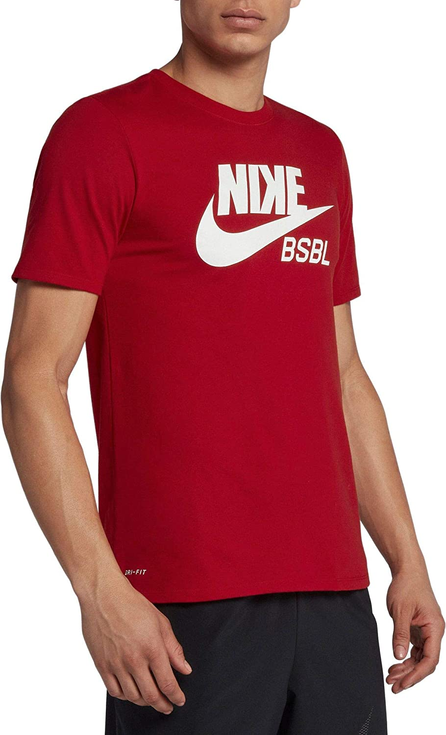 Men/'s Nike Dri-Fit Baseball T-Shirt BSBL