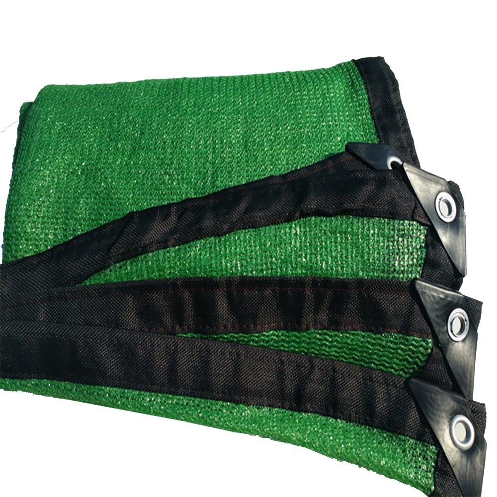 Shade net Ombra Vela Pin verde Resistente all'abbronzatura Resistente all'agricoltura Biologica da Agricoltura 6 (colore   verde, Dimensioni   2X8m)