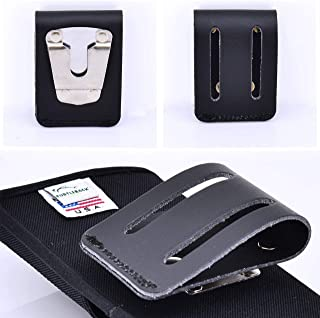 product image for Replacement Belt Clip That's Rugged and Heavy Duty for Turtleback's Galaxy S10+Plus, Galaxy S10 5G, Galaxy S10 2019, Holster Pouch Case (Black- Belt Loop)