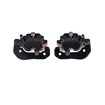 Komous Left & right Brake Caliper Set Fit Can Am Outlander Renegade 800 1000 2012-2020 OEM #705600860 705600859 with pads: Automotive