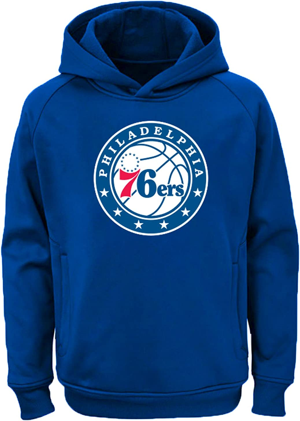 Outerstuff NBA Youth Team Color Performance Primary Logo Pullover Sweatshirt Hoodie
