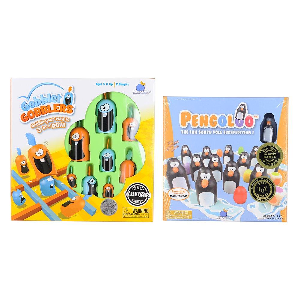 【税込】 ブルーオレンジGobblet Gobblersボードゲーム& Pengolooバンドル( 2パック) 2パック) B07BYYJS2Q B07BYYJS2Q, CanWebShop:0c7e0829 --- arianechie.dominiotemporario.com