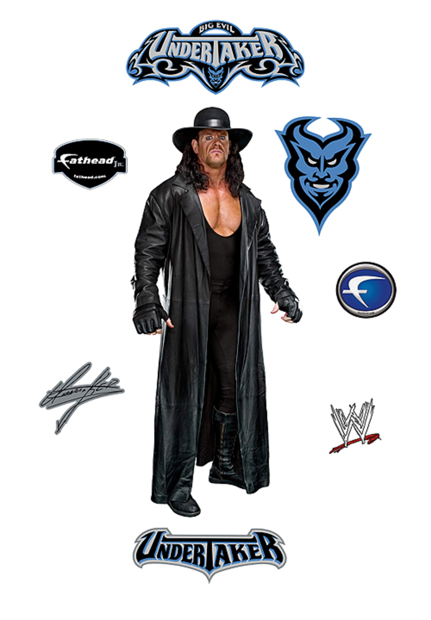 Undertaker - XL Officially Licensed WWE Removable Wall Decal by FATHEAD