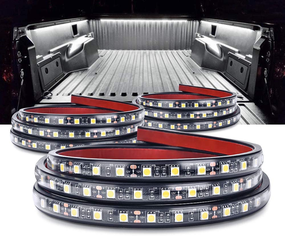 MICTUNING 3Pcs 60 Inch Truck Bed Lights