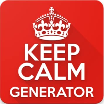 amazon com keep calm generator appstore for android