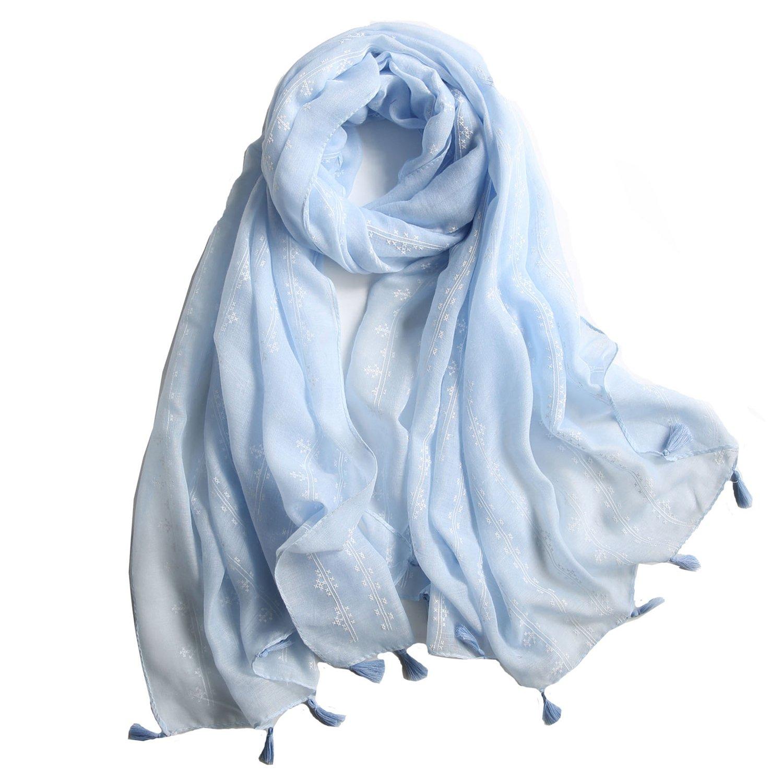 大判ストール レデイース 綿100% 柔らかい 薄手 UVカット&冷房対策