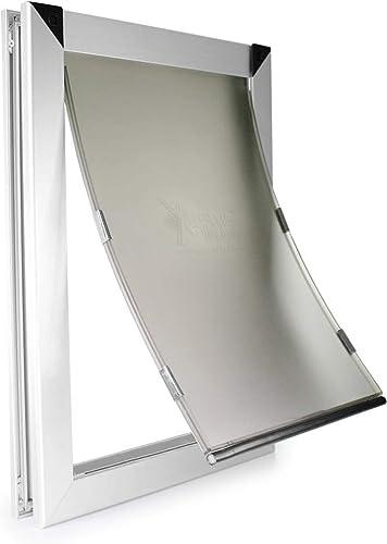Best aluminum dog Door: Extreme Performance Locking Rugged Aluminum Dog Doors