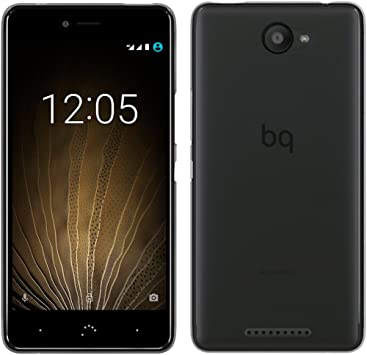 OVIphone Funda Gel TPU Para BQ AQUARIS U / U LITE (NO COMPATIBLE CON BQ AQUARIS U PLUS) (Color Negro): Amazon.es: Electrónica