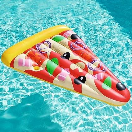Rventric Piscina Al Aire Libre Balsas De Flotador De PVC Gigante Inflable De La Pizza Inflable