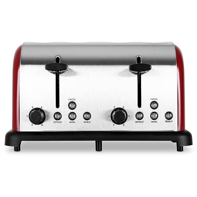 Klarstein Grille pain inox - Toaster multifonction avec ...
