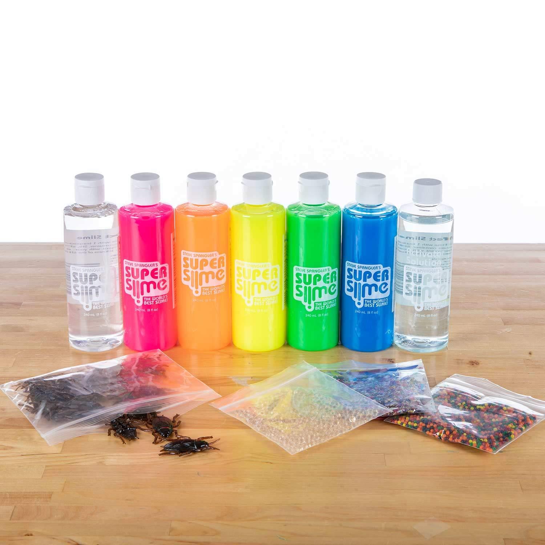 Steve Spangler's Super Slime Art Set, 6 8oz bottles of Slime, DIY Slime Kit by Steve Spangler Science (Image #1)