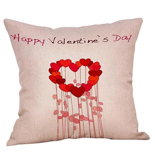 forh Happy San Valentín almohada dulce estilo presupuesto ...