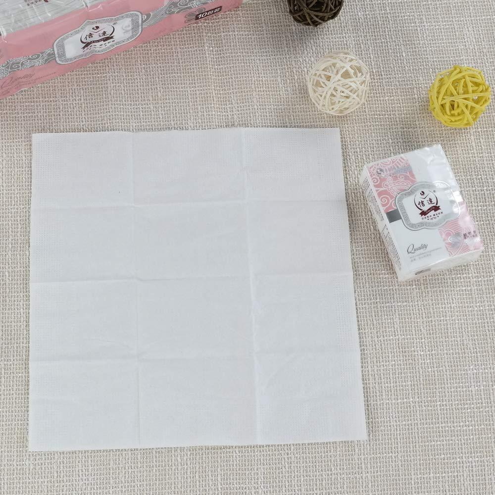 Cadine Facial Tissue Pocket Packs Pink 80 Pockets Handbag Tissue