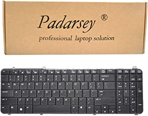 Padarsey Keyboard Replacement Compatible with HP Pavilion DV6-1000 DV6-1100 dv6-1200 DV6-1300 DV6-2000 DV6-2100 DV6Z-1100 DV6T-1200 DV6T-2000 DV6Z-2000 Series Laptop Black US Layout