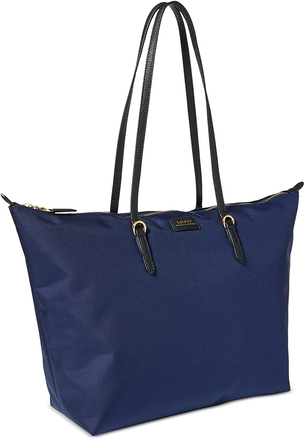 Lauren Ralph Lauren Chadwick Medium Nylon Tote Navy