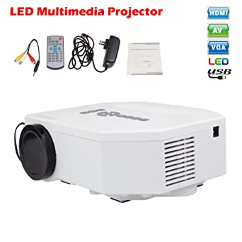 Amazon.com: Sunsbell® Uc30 Mini Pico Portable Projector Hd ...