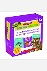 Guided Science Readers Parent Pack: Levels E-F: 12 Fun Nonfiction Books That Are Just Right for New Readers Paperback