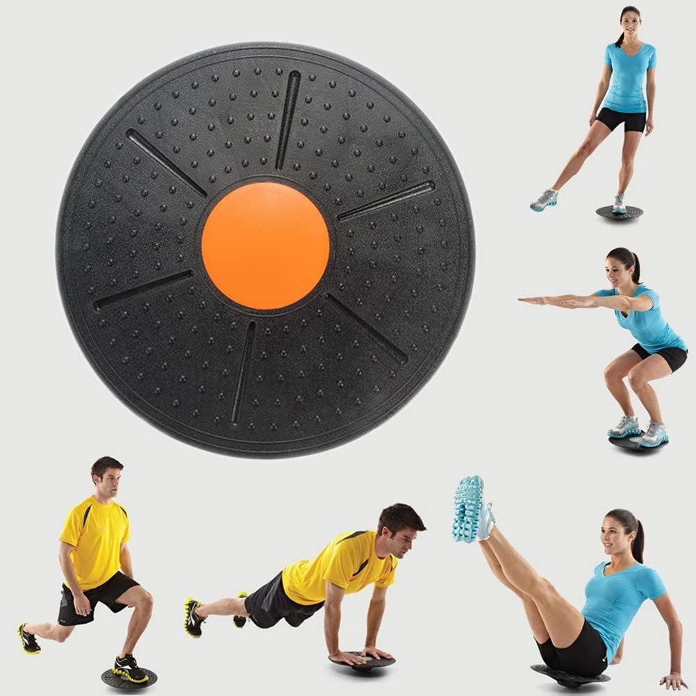Wobble Yoga Balance Board Disc Fitness Stability Pad Pro Training Exercise Board