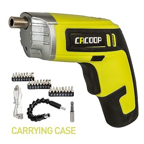 cacoop electric cordless screwdriver rechargeable set(csd04002cacoop electric cordless screwdriver rechargeable set(csd04002), with built in 4v max