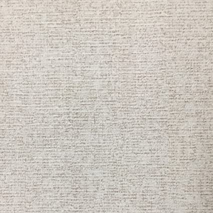 Attractive Geo Warm Gray Linen Textured Wallpaper For Walls - Double Roll  NH28