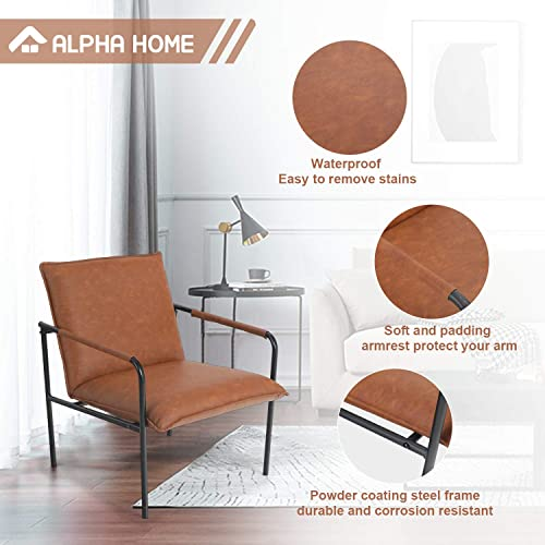 Best living room chair: ALPHA HOME Accent Chair Sofa Chair Lounge Chair