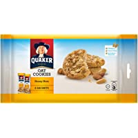 Quaker Oatmeal Cookies, Honeynuts, 162g