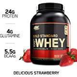 Optimum Nutrition 100% Whey Gold Strawberry 5lb