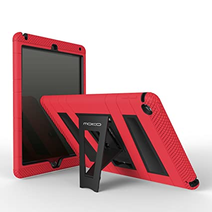 MoKo Funda para iPad Air 2 - Plegable Silicona Durable Protector con Función de Soporte Trasera Dura Cover Case Para Apple iPad Air 2 9.7 Pulgadas ...