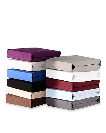 boxspringbett topper myhomery spannbettlaken noah spannbetttuch basic matratzenbezug fa 1 4 r bettlaken aus fur 180x200