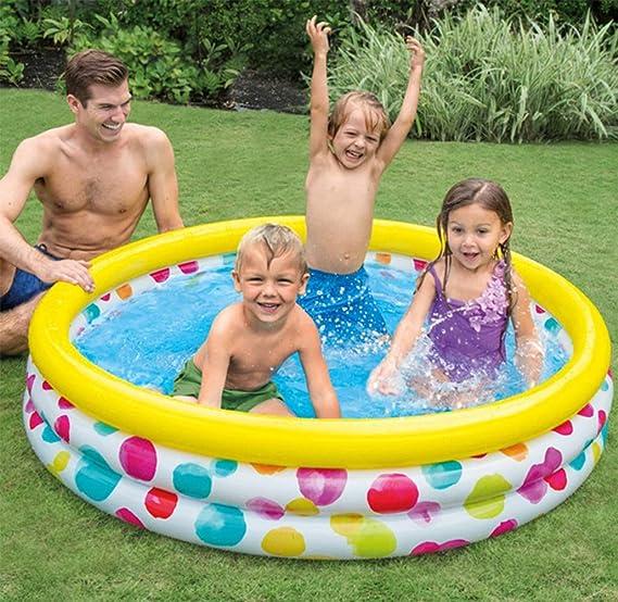 Amazon.com: Piscinas hinchables para piscina, bomba de pie ...